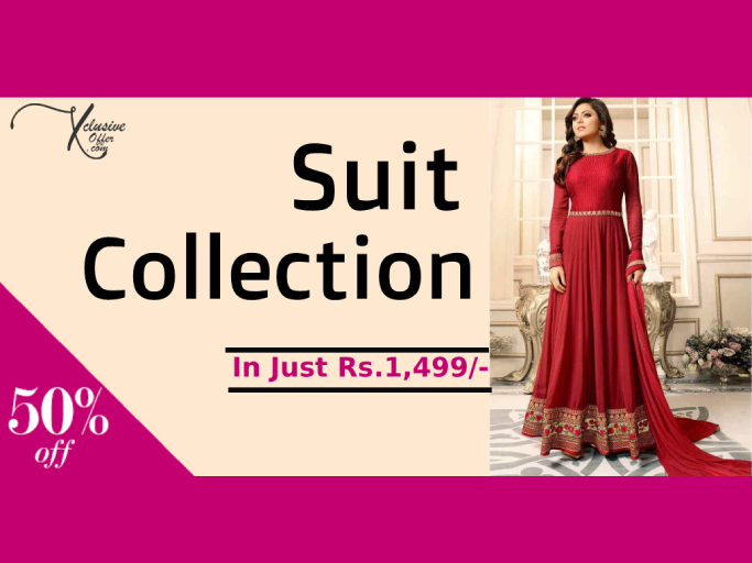 db759a1616 Style yourself with Party wear Salwar Kameez. Designer Suits, From Top  Brands with lowest prices. Buy Salwar Suits online at low prices in India.