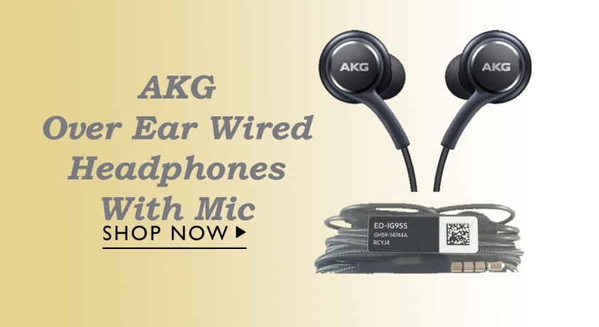 Akg Over Ear Wired Headphones With Mic Xclusiveoffer